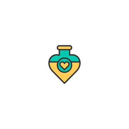 Potion Icon Design. Lifestyle icon vector illustration
