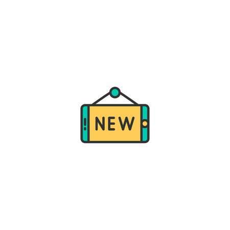 New icon design. Shopping icon vector illustration