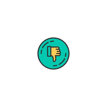 Dislike icon design. Shopping icon vector illustration 写真素材 - 129275095