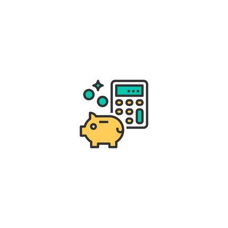 Money icon design. Startup icon vector illustration
