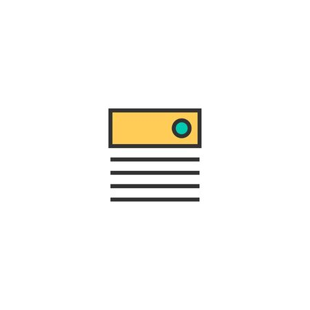 Pan tone icon design. Stationery icon vector illustration