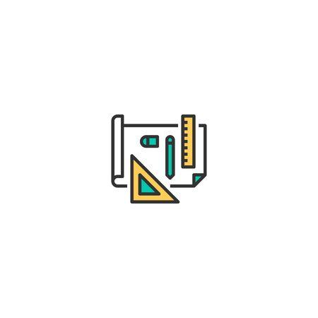Design icon design. Startup icon vector illustration