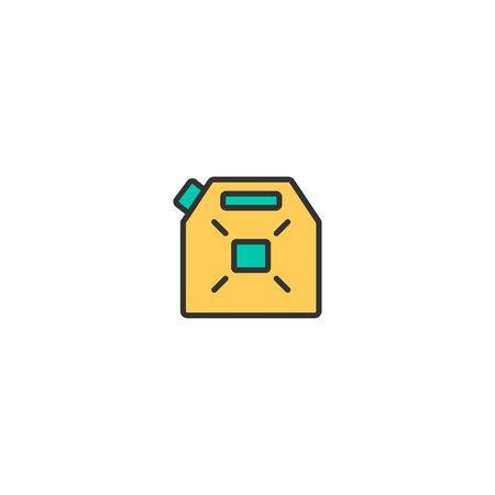 Gasoline icon design. Transportation icon vector illustration Foto de archivo - 129276035