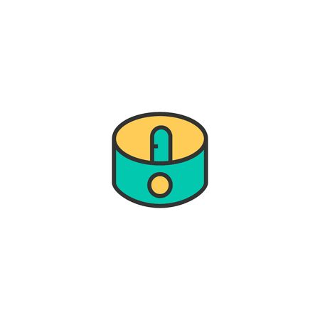 Sharpener icon design. Stationery icon vector illustration