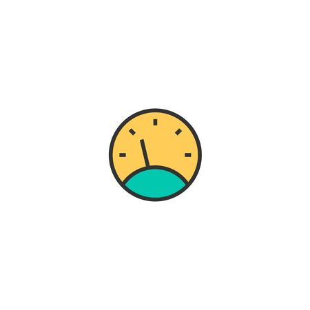 Speedometer icon design. Transportation icon vector illustration