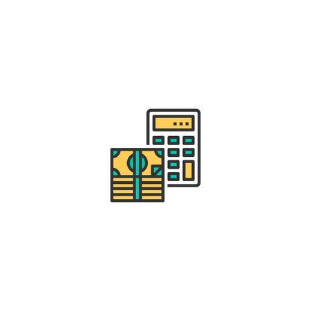 Budget icon design. Startup icon vector illustration 일러스트