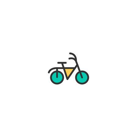 Bicycle icon design. Transportation icon vector illustration 일러스트