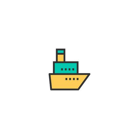 Ship icon design. Transportation icon vector illustration
