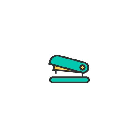 Stapler icon design. Stationery icon vector illustration