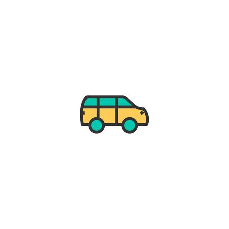 Car icon design. Transportation icon vector illustration  イラスト・ベクター素材
