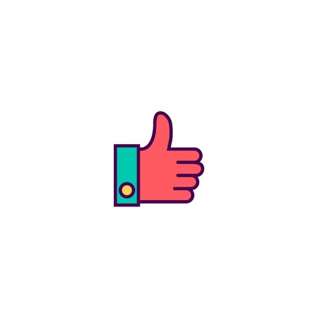 Like icon design. Essential icon vector illustration