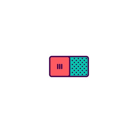 Switch icon design. Essential icon vector illustration Banque d'images - 129415597