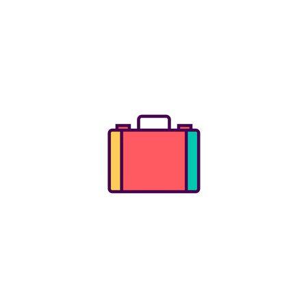 Briefcase icon design. Essential icon vector illustration Иллюстрация