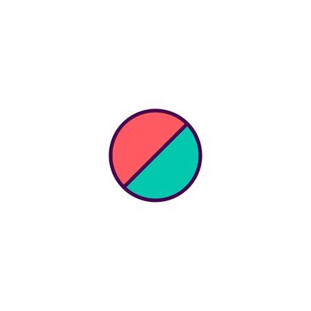 Forbidden icon design. Essential icon vector illustration