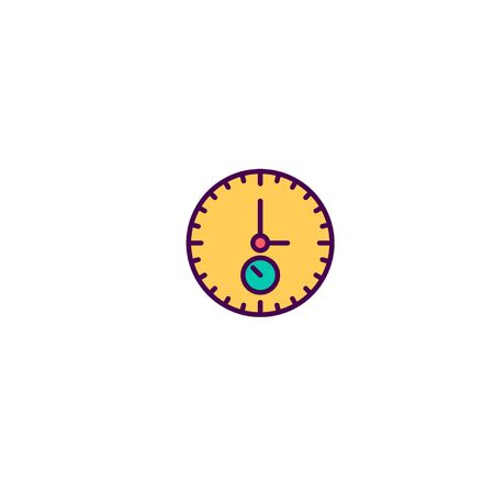 Stopwatch icon design. Essential icon vector illustration