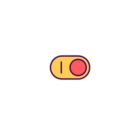 Switch icon design. Essential icon vector illustration Banque d'images - 129492507