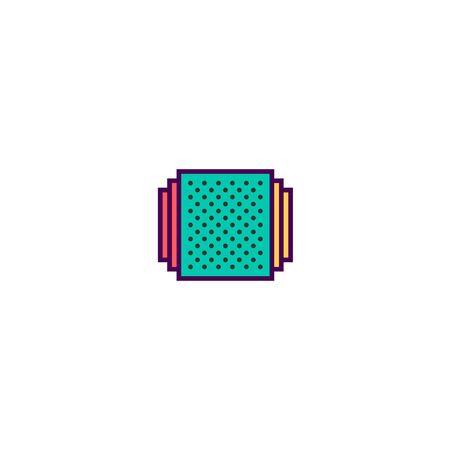 Album icon design. Essential icon vector illustration