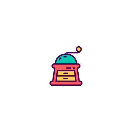 Grinder icon design. Gastronomy icon vector illustration