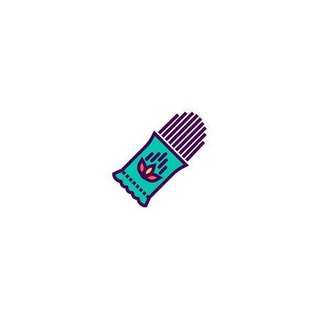 Pasta icon design. Gastronomy icon vector illustration