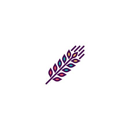 Grain icon design. Gastronomy icon vector illustration