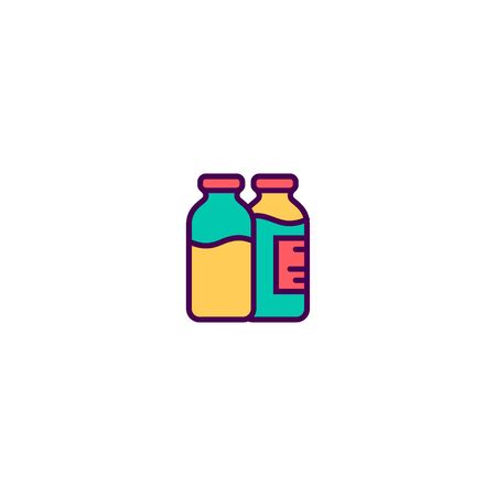 Milk icon design. Gastronomy icon vector illustration