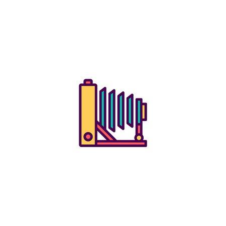 Photo Camera icon design. Photography and video icon vector illustration