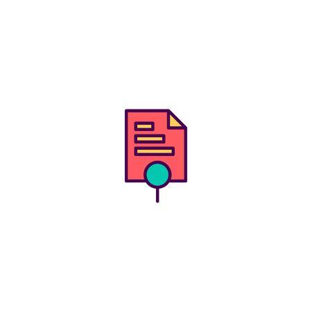 Bar chart icon design. Marketing icon vector illustration