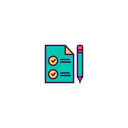 Contact icon design. Marketing icon vector illustration