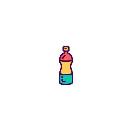 Water icon design. Gastronomy icon vector illustration  イラスト・ベクター素材