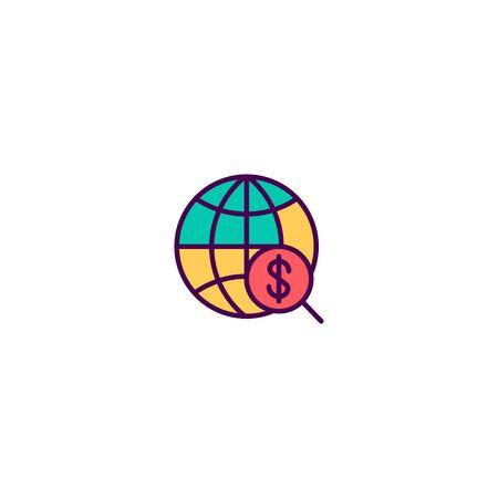 Internet icon design. Marketing icon vector illustration