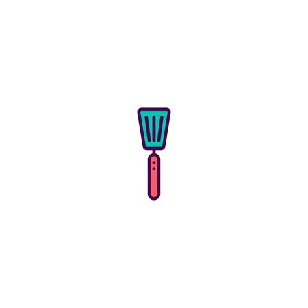 Spatula icon design. Gastronomy icon vector illustration 向量圖像