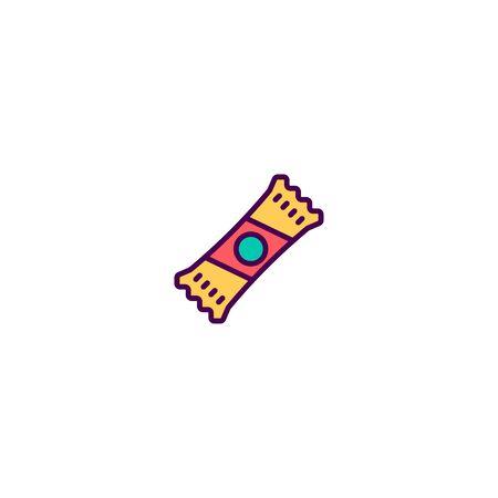 Candy icon design. Gastronomy icon vector illustration