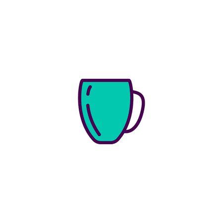 Mug icon design. Gastronomy icon vector illustration  イラスト・ベクター素材