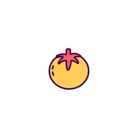 Tomato icon design. Gastronomy icon vector illustration 写真素材 - 129531603