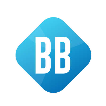 BB Letter Logo Design With Simple style