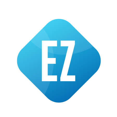 EZ Letter Logo Design With Simple style
