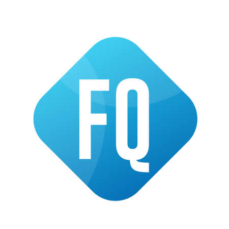 FQ Letter Design With Simple style