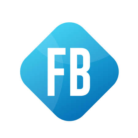 FB Letter Design With Simple style