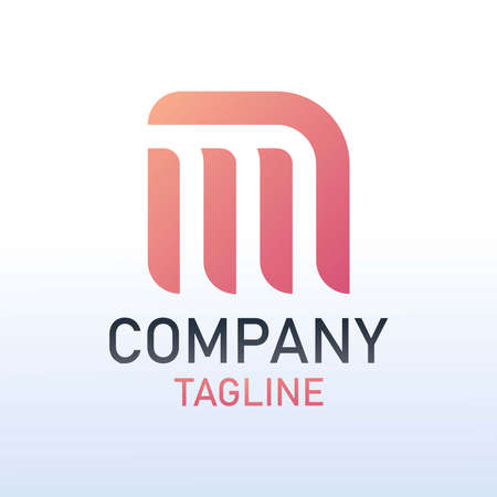 Logo Business Letter Logo Design With Simple style