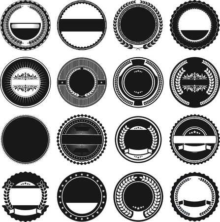 interlinked: Collection of Round Border Frames