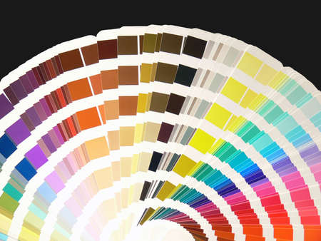 icc: color swatches Stock Photo