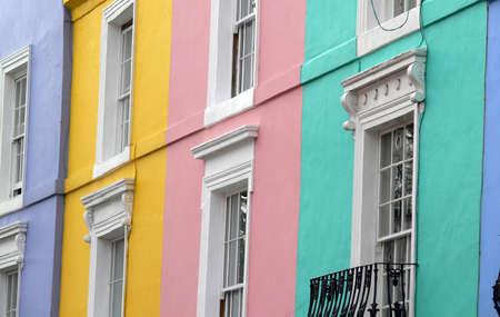 rd: houses in Portobello rd (London, UK)