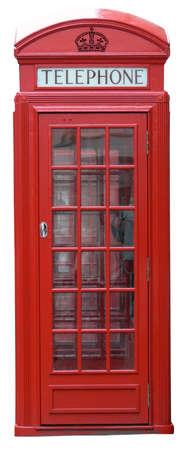 phonebox: English phone box (London, UK)