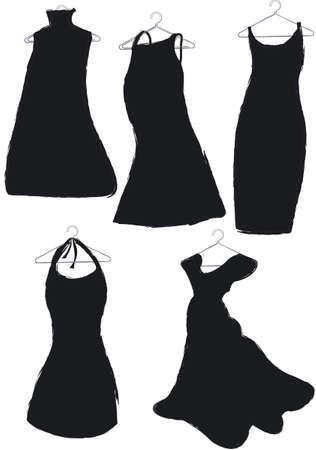 robe noire: robes noires