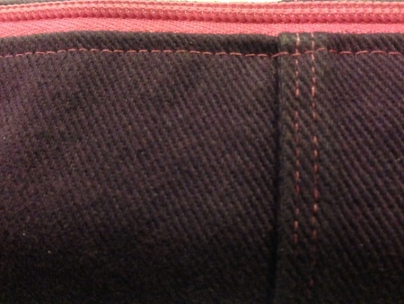 jeans: Close up of a photo of denim and zipper.
