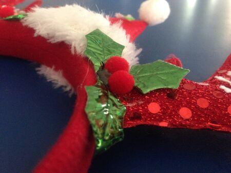 pokrývka hlavy: Sobí parohy Vánoce zdobené pokrývky hlavy.