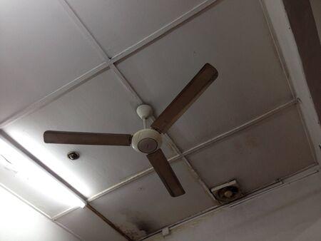ceiling fan: Old ceiling fan and ventilator