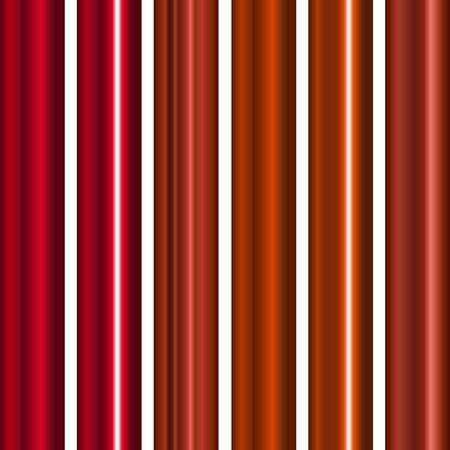pipe line: Red Metal Gradients set, vector