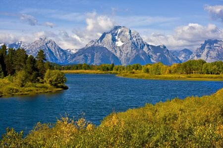 oxbow: Oxbow Bend in Grand Teton National Park