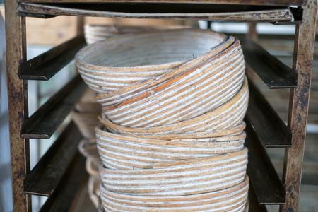 PrEP: Rattan Bread Bakery Bowls
